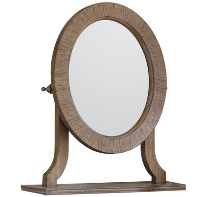 Mirren Mindy Ash Timber Dressing Table Mirror