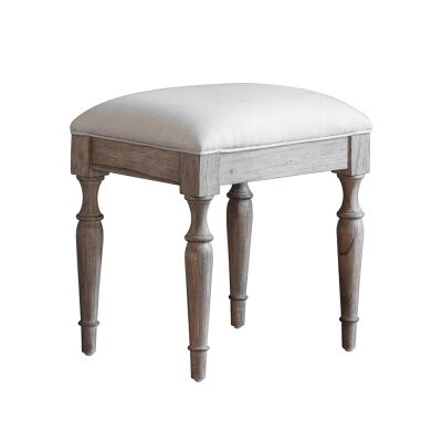 Mirren Mindy Ash Timber Dressing Stool