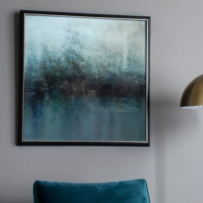 Bayou Abstract Framed Wall Art, 74cm