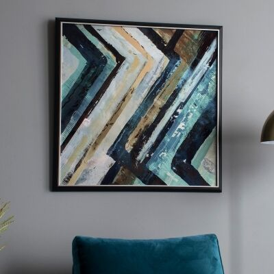 Arcadia Abstract Framed Wall Art, 74cm