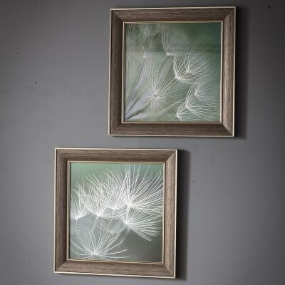 Floret 2 Piece Framed Wall Art Set