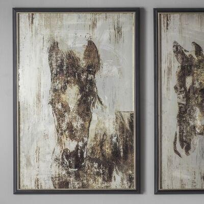 Equis II Framed Wall Art, 90cm