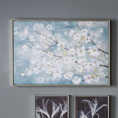 April Blossom Framed Wall Art, 90cm