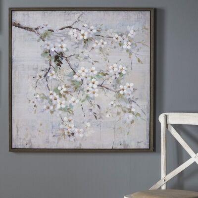 Spring Blossom Framed Wall Art, 80cm