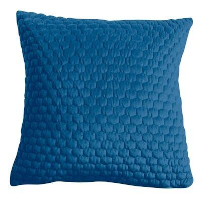 Landseer Feather Filled Scatter Cushion, Ink Blue