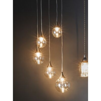 Frusco 5 Light Cluster Pendant Light