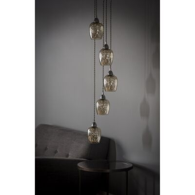 Salinas 5 Light Cluster Pendant Light