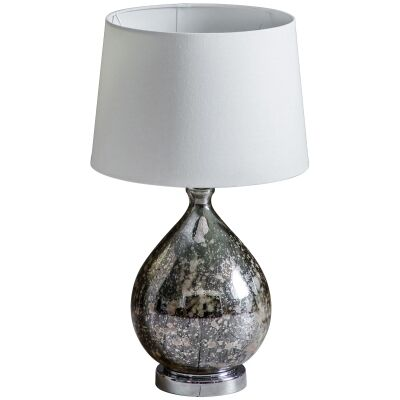 Lumley Mottled Glass Table Lamp