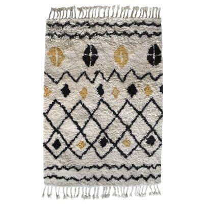 Navaho Hand Woven Wool Rug, 170x120cm