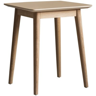 Maja Oak Timber Side Table