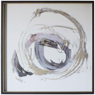 Whirpool Framed Wall Art Print, 80cm