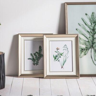 Set of 2 Botanical Spring II Framed Wall Art Prints, 55cm