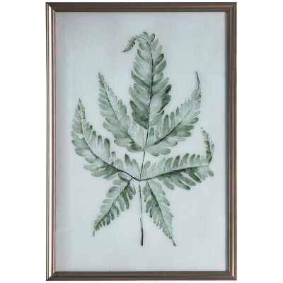 Spring Fern Framed Wall Art Print, 96cm