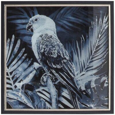 Midnight Birds I Framed Wall Art Print, 43cm