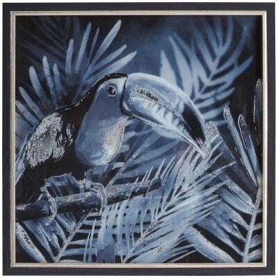 Midnight Birds II Framed Wall Art Print, 43cm