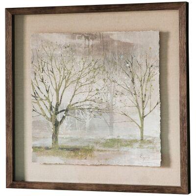 Morning Mist II Framed Wall Art Print, 64cm