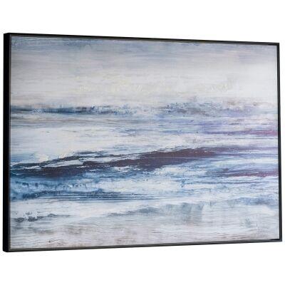 Summer Haze Framed Giclee Canvas Wall Art Print, 122cm