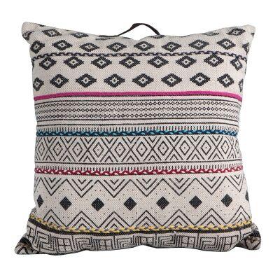 Carly Printed Cotton Floor Cushion