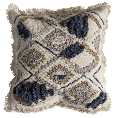 Farha Embroidered Cotton Scatter Cushion