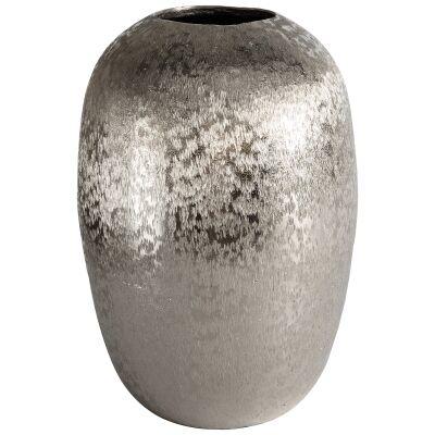 Carney Aluminium Ellipse Ball Vase