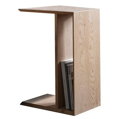 Maja Oak Timber Supper Side Table