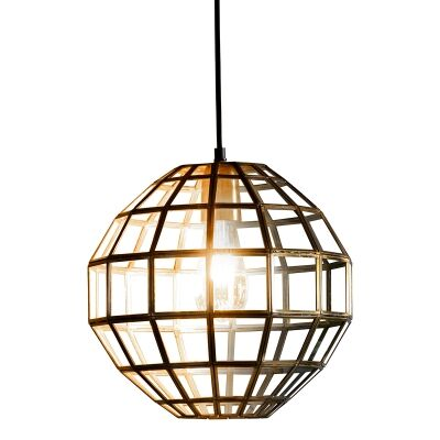Marica Metal & Glass Pendant Light
