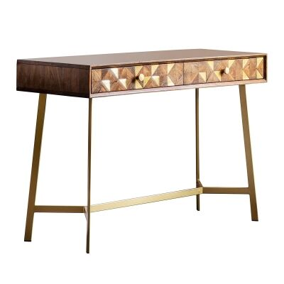 Toth Acacia Timber Console Table, 110cm