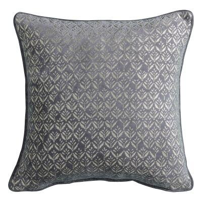 Challeigh Grassland Metallic Printed Cotton Scatter Cushion