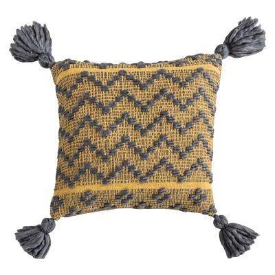 Cherylynn Feather Filled Scatter Cushion, Ochre