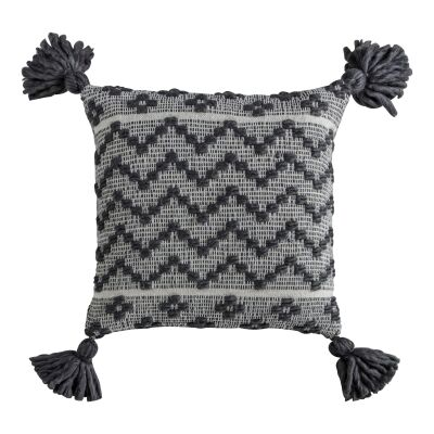 Cherylynn Feather Filled Scatter Cushion, Grey