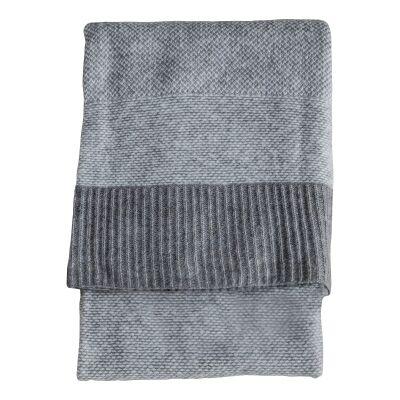Tafia Knitted Wool Throw, 170x130cm