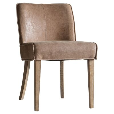 Tael Leather Dining Chair