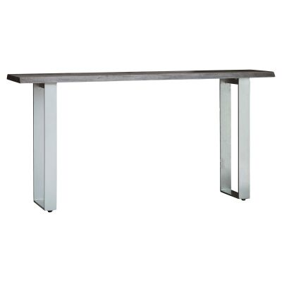 Hernox Acacia Timber & Iron Console Table, 160cm