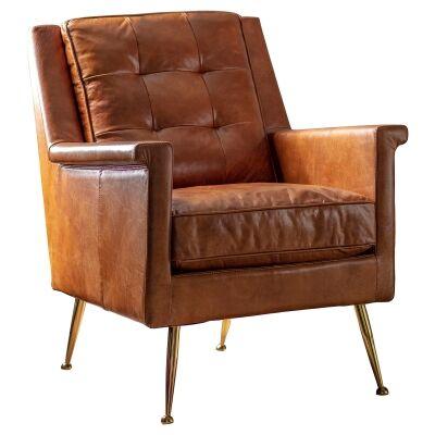 Malyn Leather Armchair
