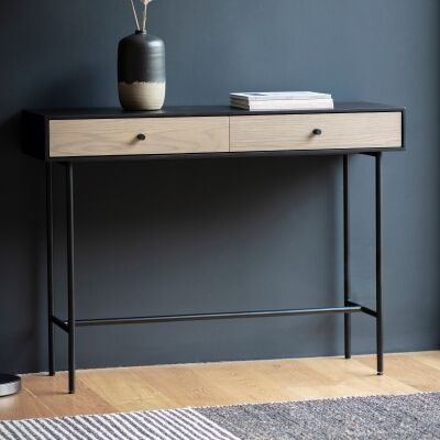 Calbex 2 Drawer Console Table, 110cm