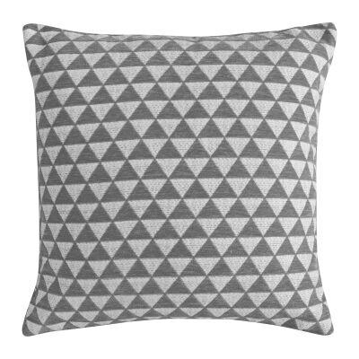 Jossi Jacquard Scatter Cushion, Grey