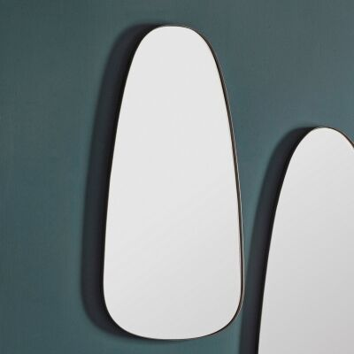 Vivana Iron Frame Wall Mirror, 92cm