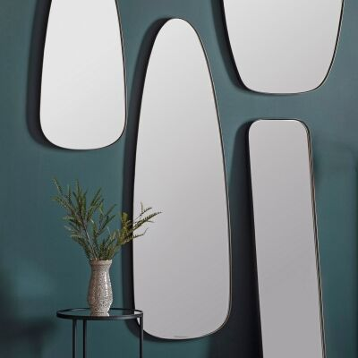 Buena Iron Frame Wall Mirror, 155cm