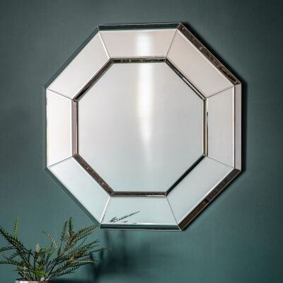 Vincia Octagon Wall Mirror, 80cm