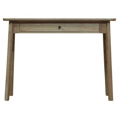 Kingham European Oak Timber Dressing Table / Desk, 100cm