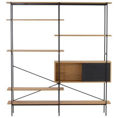 Kreman Wood & Metal Display Shelf