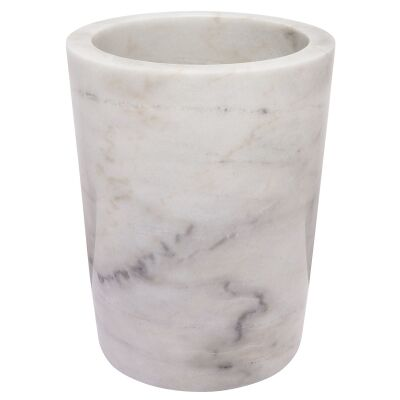 Valley Marble Wine Cooler, White