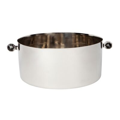 Paxton Stainless Steel Champagne Bucket, Silver