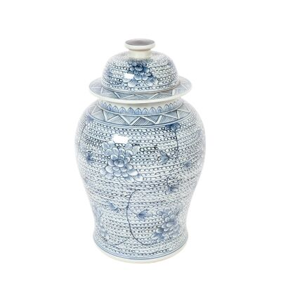 Shellcove Porcelain Temple Jar, Medium