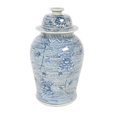 Shellcove Porcelain Temple Jar, Large