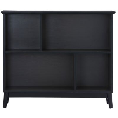 Howell Wooden Bookcase, Low