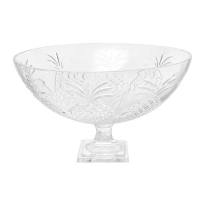 Charleston Cut Glass Fruit Bowl