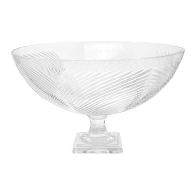 Copacabana Cut Glass Fruit Bowl, Large