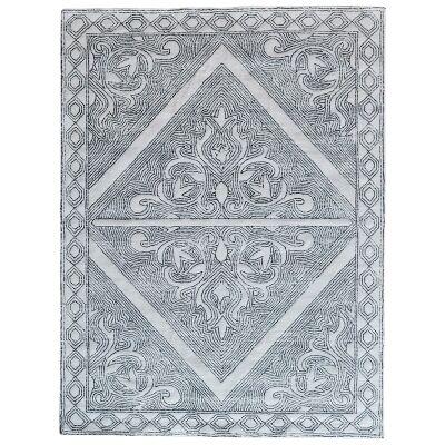 Bateeq Hand Tufted Wool Rug, 240x320cm, White