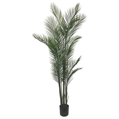Potted Artificial Areca Palm Tree, 182cm